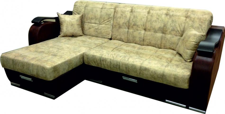 Угловой диван с металлокаркасом