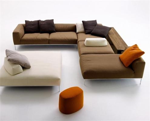 Угловой диван с софой