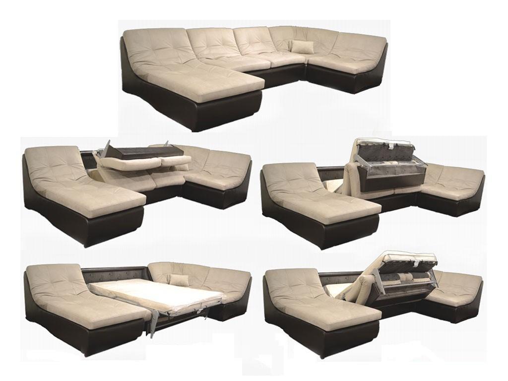 Угловой диван трансформер