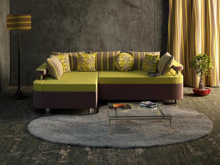 Угловой диван в комнату