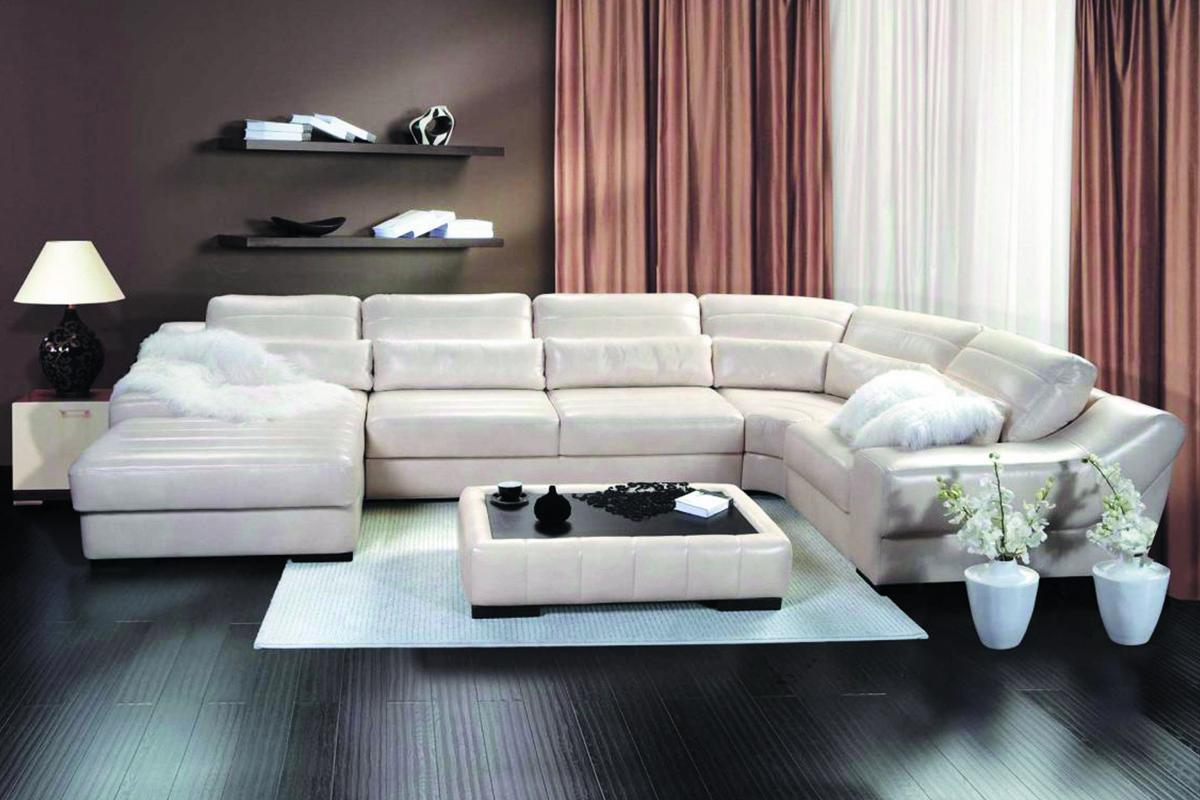 Угловой п образный диван