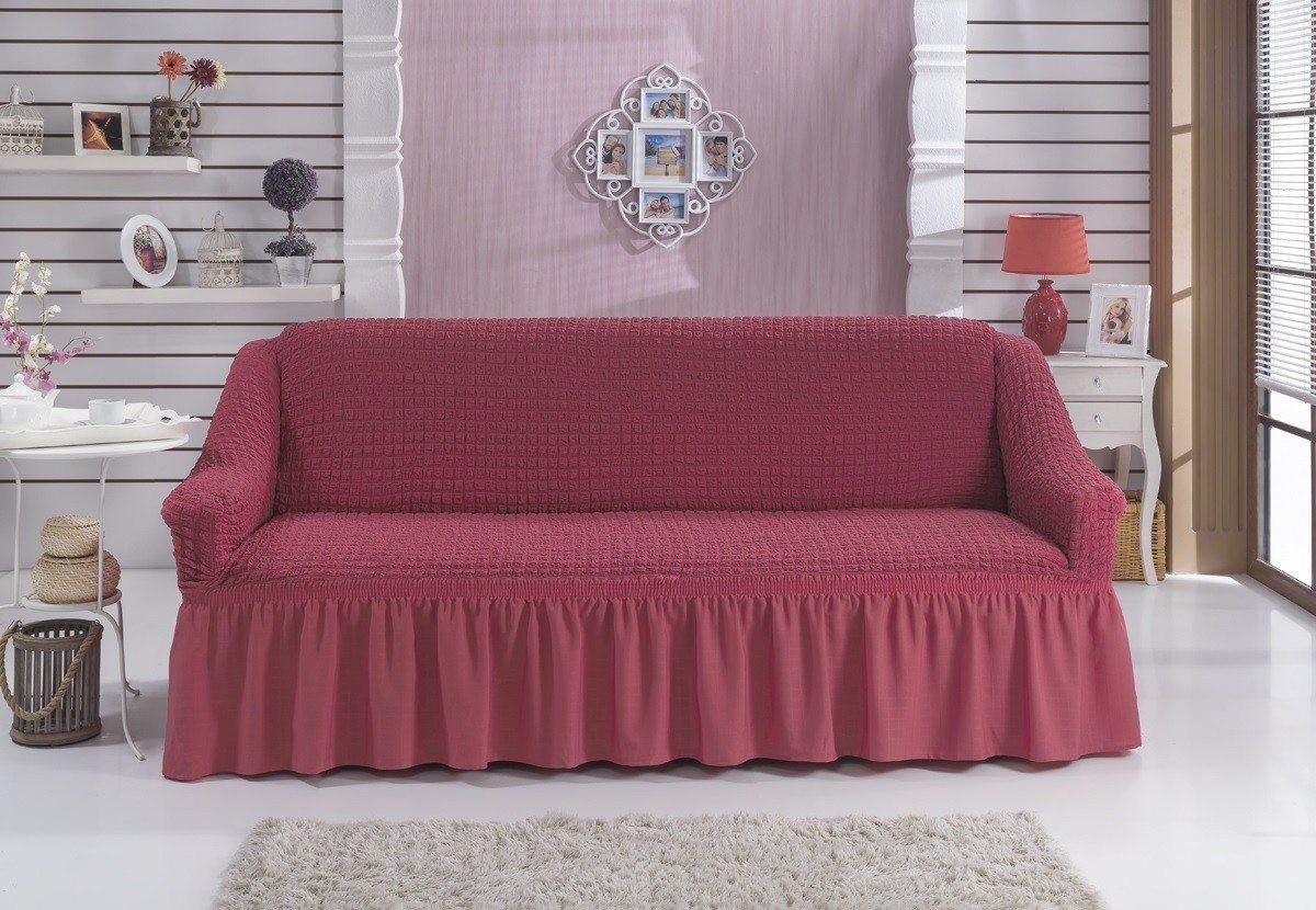 Универсальный чехол на двухместный диван