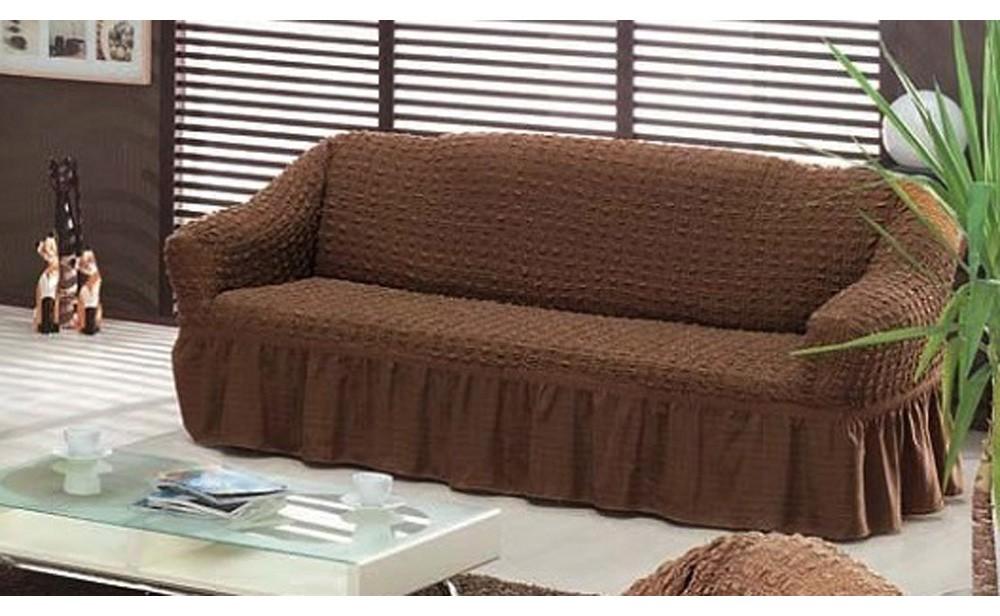 Универсальный чехол на трехместный диван
