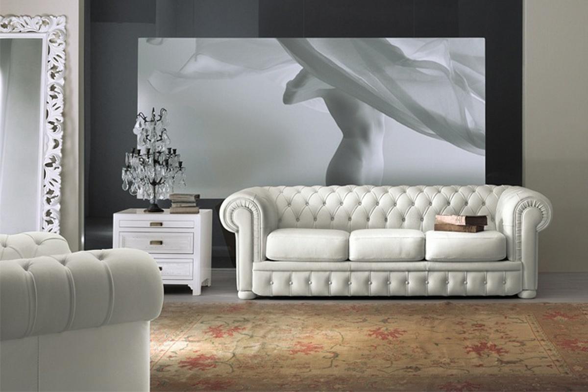 В чем секрет привлекательности белого дивана