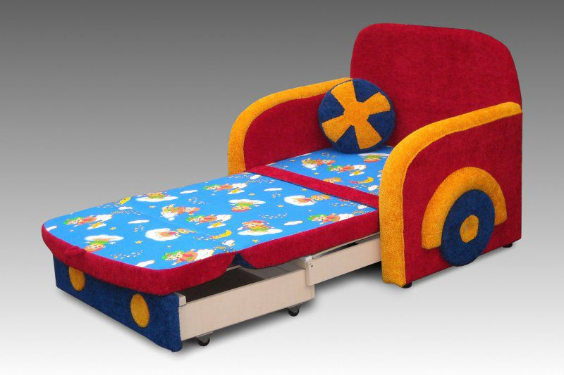 Выбор дивана в детскую