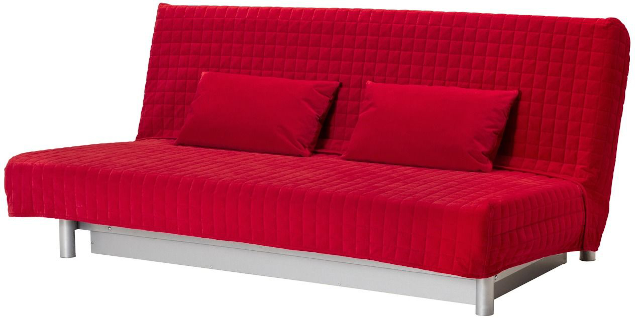 Яркий диван Икеа