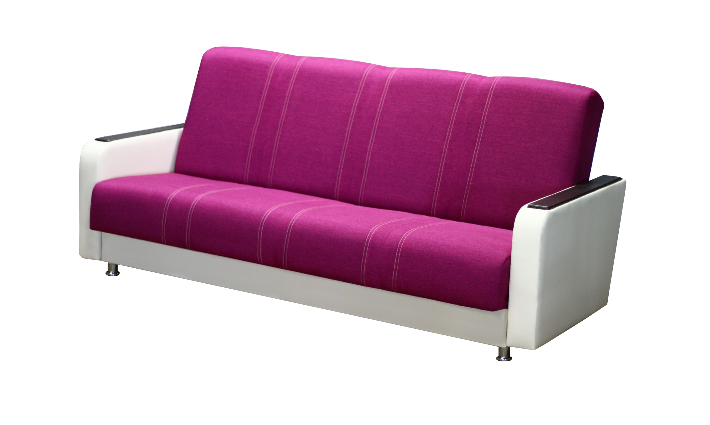Яркий диван для гостиной