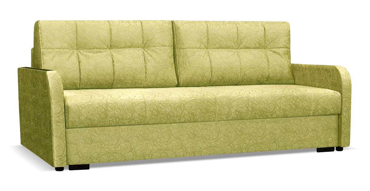 Зеленый диван тик-так