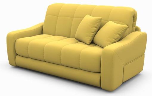 Бледный тон желтого современного дивана для дома