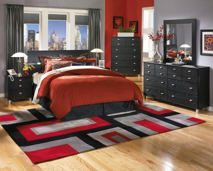 Для какого интерьера подойдет красная кровать