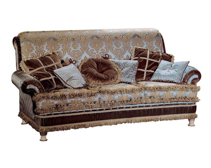 Изысканный диван в тонах коричневого цвета