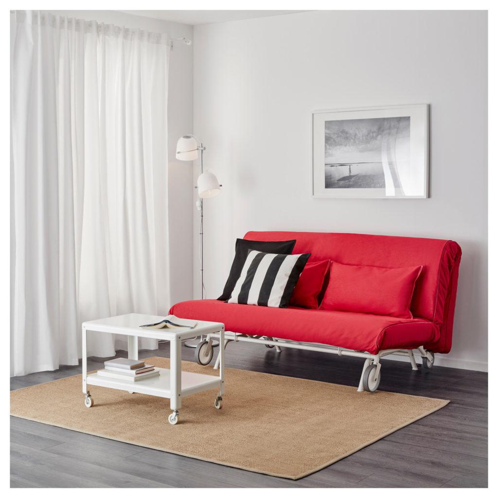 Как подобрать красный диван