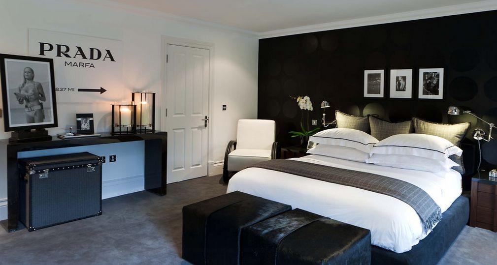 Как правильно использовать кровать черного цвета