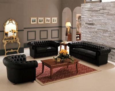 Как правильно выбрать черный современный диван