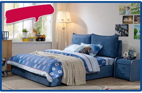 Как правильно выбрать синюю кровать для дома