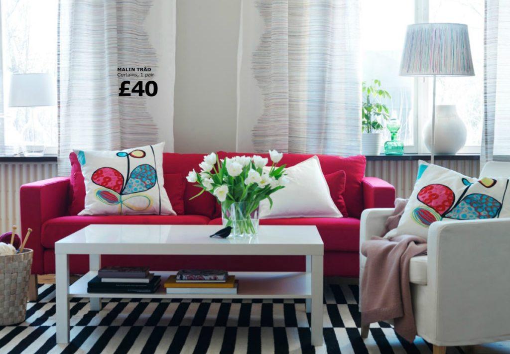 Как выбрать диван бордового цвета