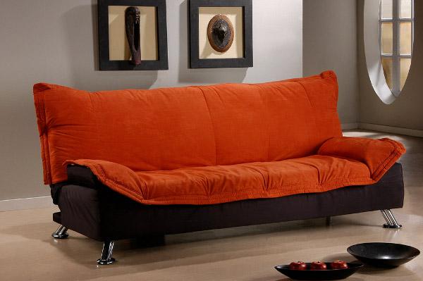 Как выбрать диван красивого оранжевого оттенка
