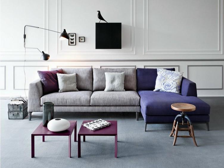 Как выбрать диван серого цвета
