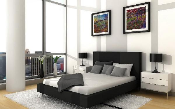 Как выбрать кровать черного цвета для обустройства спальни