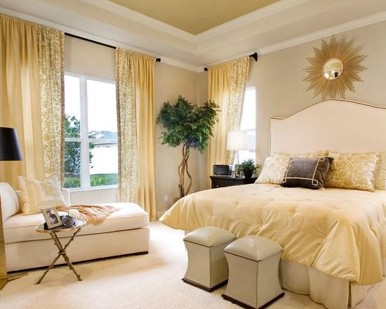 Как выбрать кровать желтого цвета