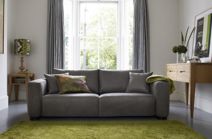 Как выбрать современный серый диван