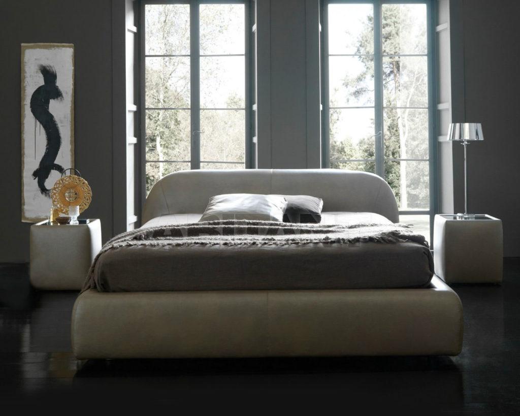 Как выглядит серая кровать в интерьере дома
