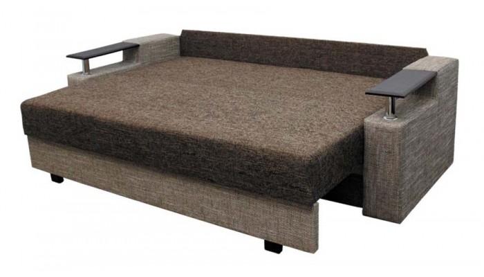 Обивка дивана в коричневом цвете