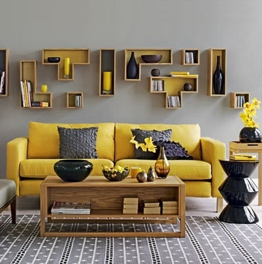 Правила выбора желтого дивана