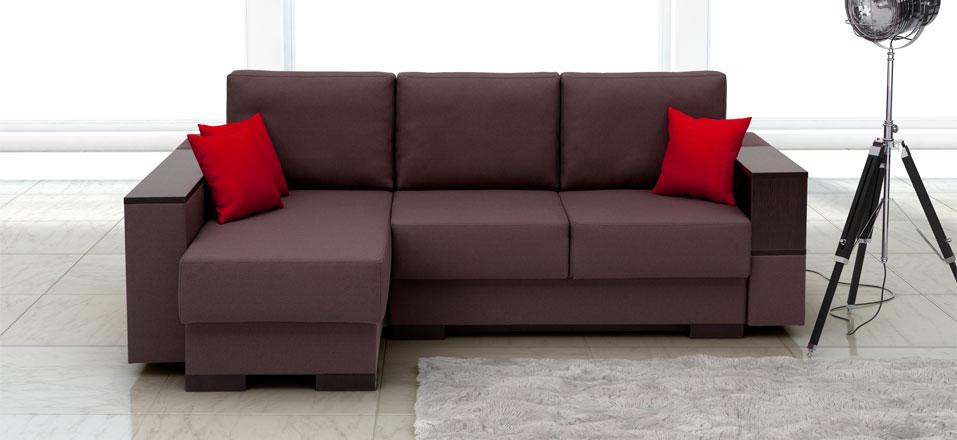 Правильно выбирем диван коричневого цвета