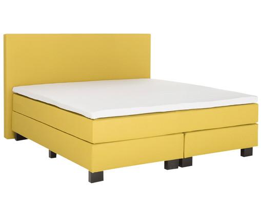 Пример желтой современной кровати