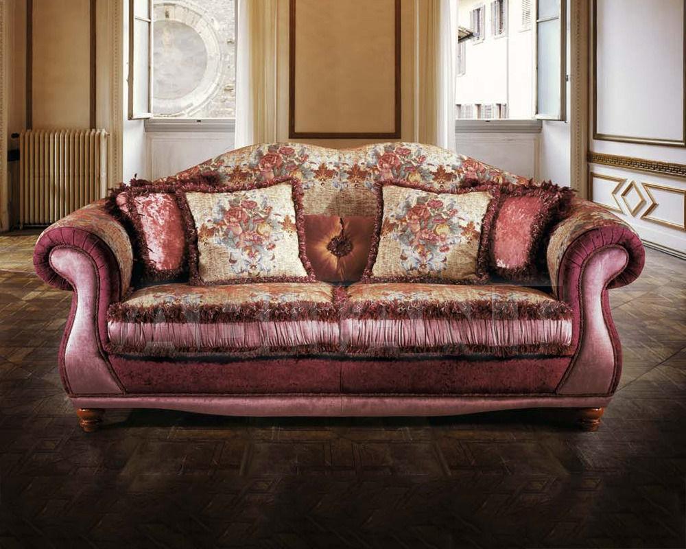 Приятный дизайн бордового современного дивана