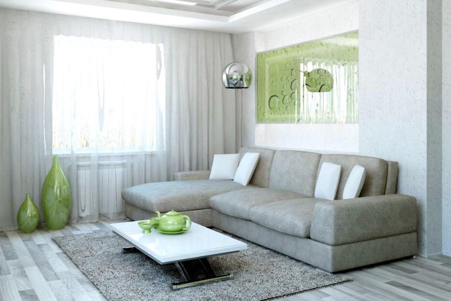 Серый цвет для оформления дивана