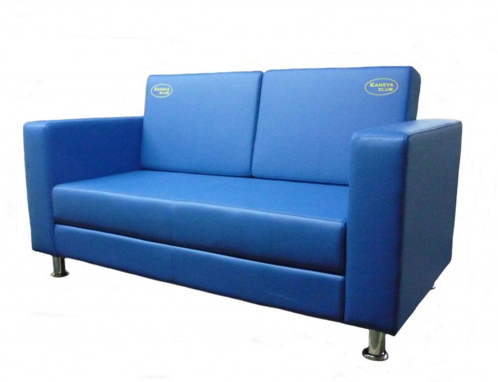 Стильные диваны синего цвета