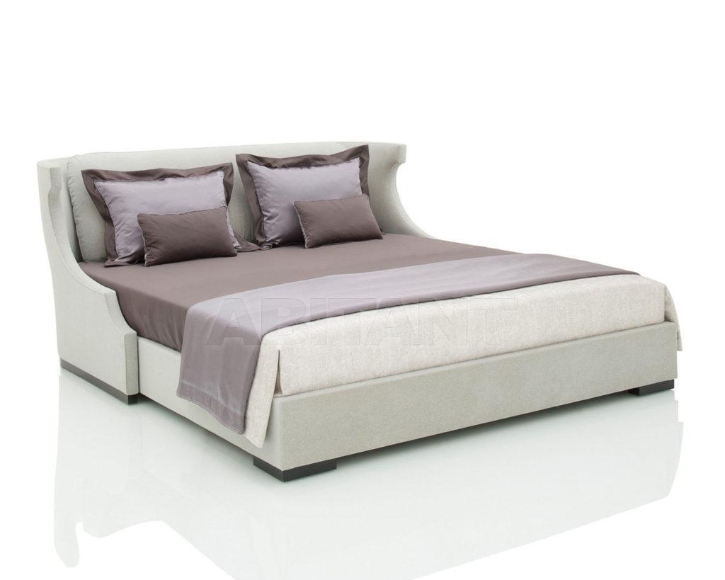 Вариант оттенка серого цвета для оформления кровати