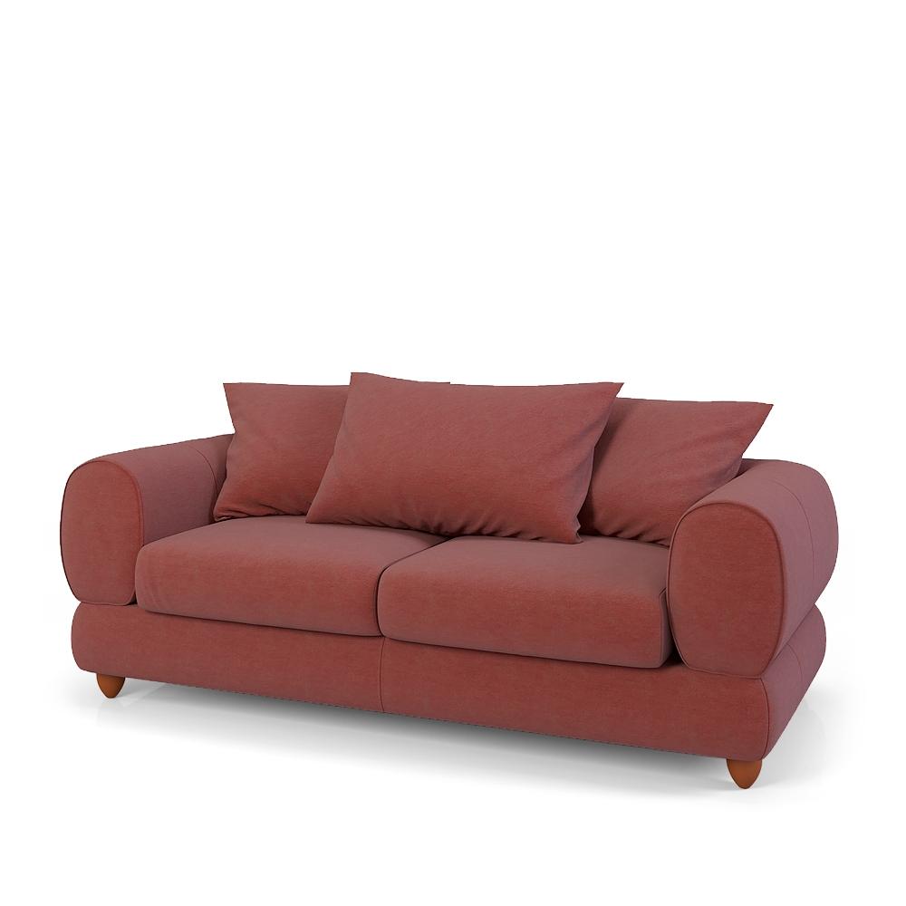 Выбираем бордовый диван