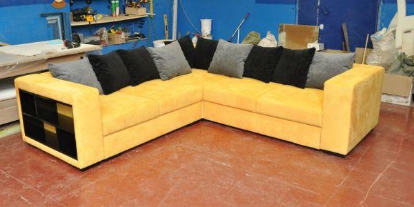 Выбираем диван, выполенный в желтом цвете