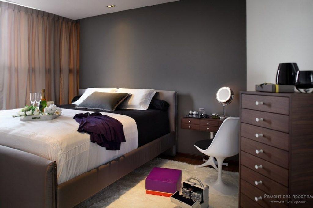 Выбираем кровать для обустройства дома коричневого цвета