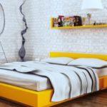 Выбор желтой кровати, на что обратить внимание
