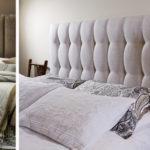 Варианты кроватей имеющих мягкое изголовье, фото моделей