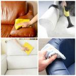 Правила чистки диванов от пятен не оставляя разводы, эффективные варианты