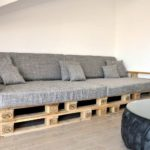 Пошаговые этапы изготовления диванов из поддонов своими руками, фото готовых изделий