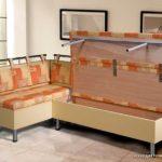 Какие бывают угловые диваны для кухни имеющие спальное место, и их особенности
