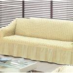 Еврочехлы для дивана, какие бывают модели