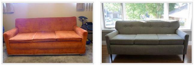Обшивка дивана