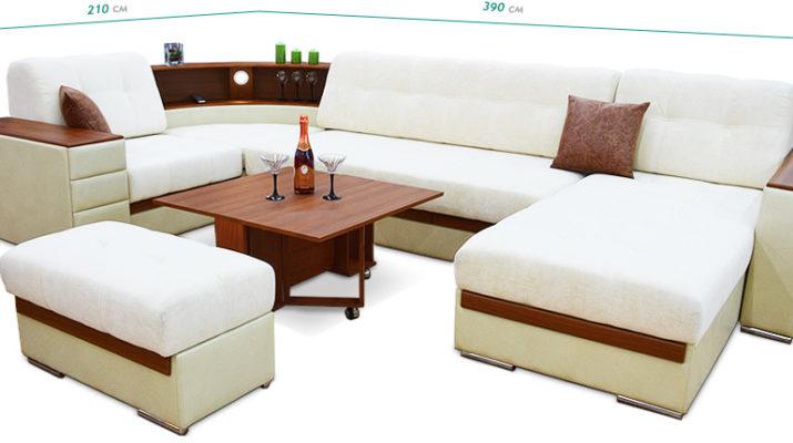 Выбор размера дивана